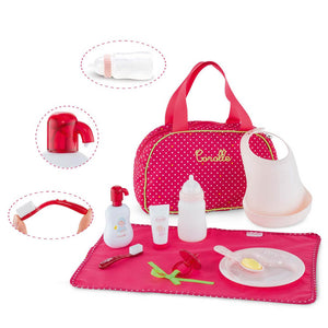 Corolle Red Baby Accessories Set