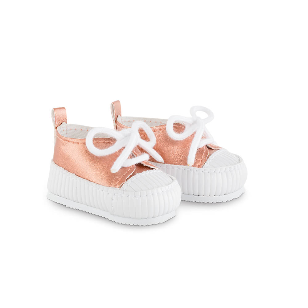 Ma Corolle Pink & Gold Sneakers