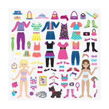 Load image into Gallery viewer, Melissa and Doug Dress-up Puffy Stickers MOQ3