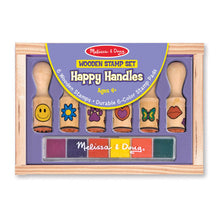 Load image into Gallery viewer, Melissa and Doug Happy Handle Stamp Set