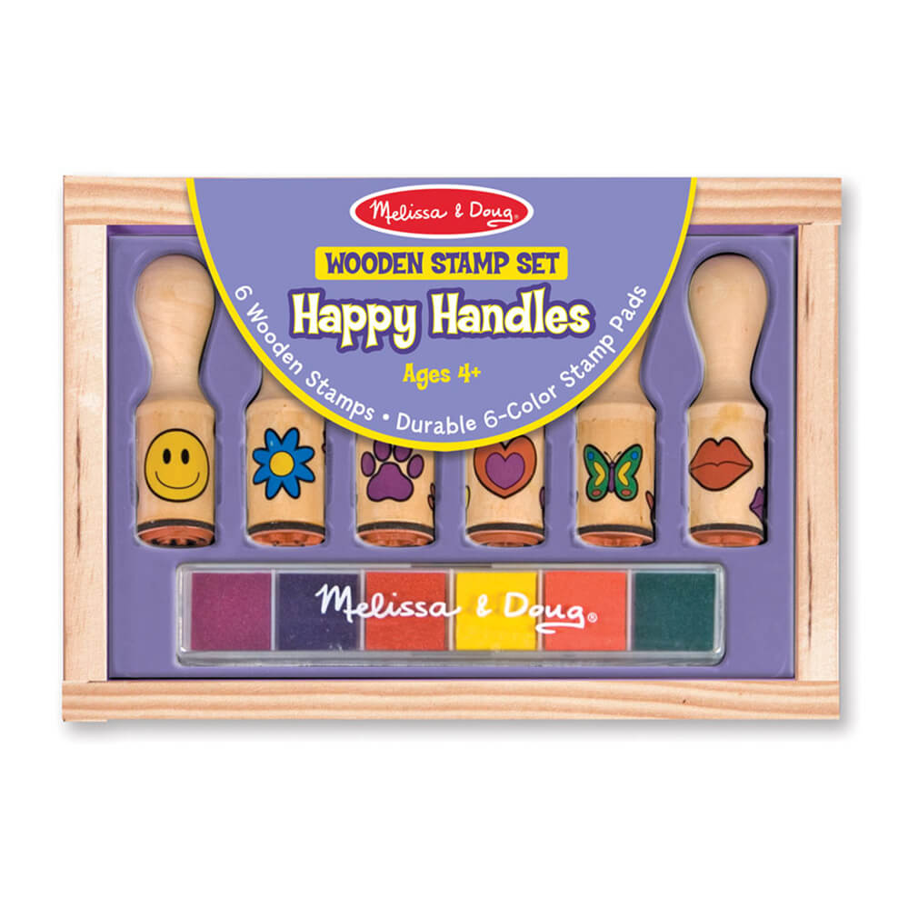 Melissa and Doug Happy Handle Stamp Set