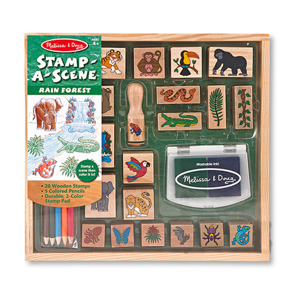 Melissa and Doug Stamp-a-Scene Rainforest
