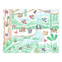 Load image into Gallery viewer, Melissa and Doug Stamp-a-Scene Rainforest