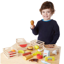 Load image into Gallery viewer, Melissa and Doug Food Groups Set