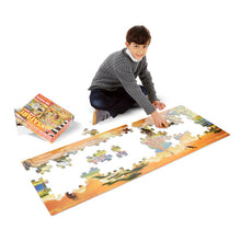 Load image into Gallery viewer, Melissa and Doug Safari Floor Puzzle 100pc