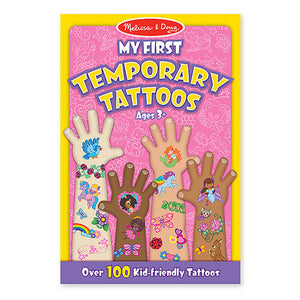 Melissa and Doug My First Temporary Tattoos Pink MOQ3