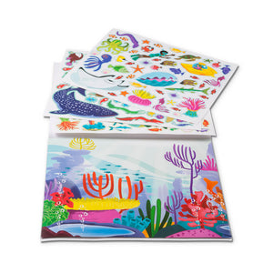 Melissa and Doug Reusable Sticker Pad - Under the Sea MOQ3