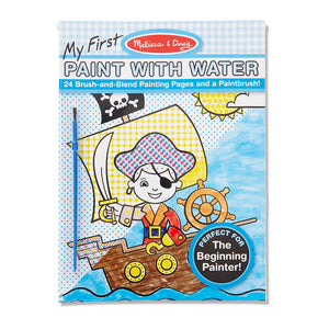 Melissa and Doug Blue My First Paint with Water MOQ3