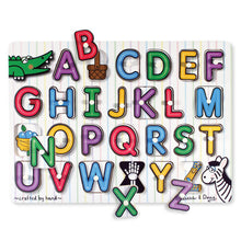 Load image into Gallery viewer, Melissa and Doug See Inside Alphabet Peg Puzzle