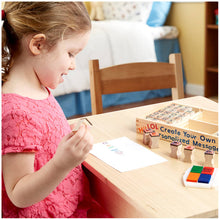 Load image into Gallery viewer, Melissa and Doug Alphabet Wooden Stamp Set