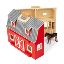 Load image into Gallery viewer, Melissa and Doug Fold & Go Barn