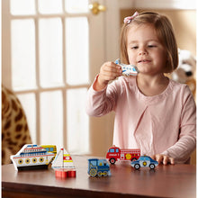 Load image into Gallery viewer, Melissa and Doug Vehicles Chunky Puzzle
