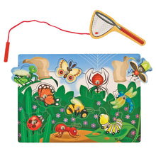 Load image into Gallery viewer, Melissa and Doug Magnetic Bug Catching Game
