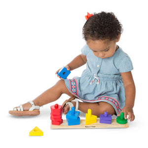 Melissa and Doug Stack and Sort Board