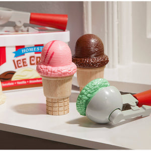 Melissa and Doug Scoop & Stack Ice Cream Cone Playset