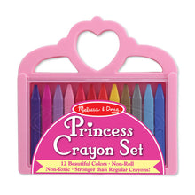 Load image into Gallery viewer, Melissa and Doug Princess Crayon Set MOQ3