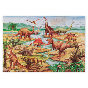 Melissa and Doug Dinosaurs Floor Puzzle 48pc