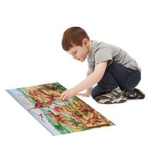 Load image into Gallery viewer, Melissa and Doug Dinosaurs Floor Puzzle 48pc
