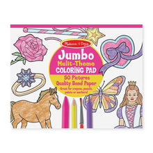 Load image into Gallery viewer, Melissa and Doug Jumbo Colouring Pad Pink MOQ3
