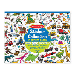 Melissa and Doug Sticker Collection Blue MOQ3