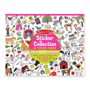 Melissa and Doug Sticker Collection Pink MOQ3