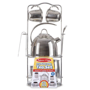 Melissa and Doug Stainless Steel Tea Set