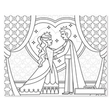 Load image into Gallery viewer, Melissa and Doug Jumbo Colouring Pad Princess & Fairy MOQ3