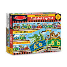 Load image into Gallery viewer, Melissa and Doug Alphabet Express Floor Puzzle 27pc