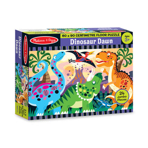 Melissa and Doug Dinosaur Dawn Floor Puzzle 24pc