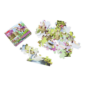 Melissa and Doug Fairy Tale Castle Floor Puzzle 48pc