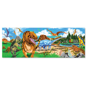Melissa and Doug Land of Dinosaurs Floor Puzzle 48pc