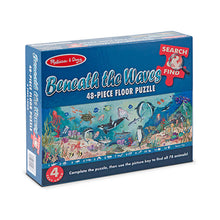 Load image into Gallery viewer, Melissa and Doug Search & Find Beneath the Waves 48pcs