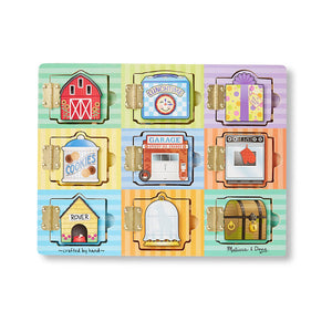 Melissa and Doug Magnetic Hide & Seek Board