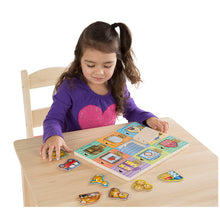 Load image into Gallery viewer, Melissa and Doug Magnetic Hide & Seek Board