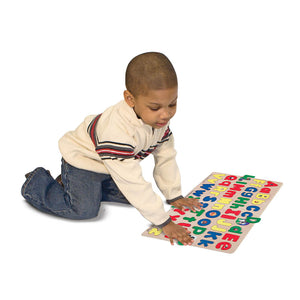 Melissa and Doug Upper & Lower Case Alphabet Puzzle