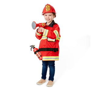 Melissa and Doug Fire Chief Costume Role Play Set