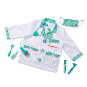 Melissa and Doug Doctor Costume Role Play Set