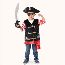 Load image into Gallery viewer, Melissa and Doug Pirate Costume Role Play Set