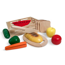 Load image into Gallery viewer, Melissa and Doug Cutting Food Box