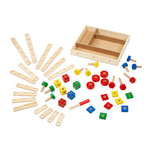 Load image into Gallery viewer, Melissa and Doug Construction Set in a Box