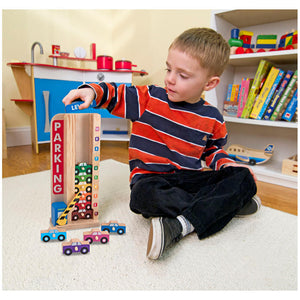 Melissa and Doug Stack & Count Parking Garage