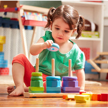 Load image into Gallery viewer, Melissa and Doug Geometric Stacker