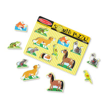 Load image into Gallery viewer, Melissa and Doug Pets Sound Puzzle