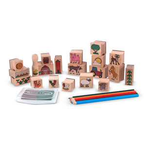 Melissa and Doug Stamp-a-Scene Farm