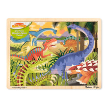 Load image into Gallery viewer, Melissa and Doug Dinosaur Jigsaw 24pcs