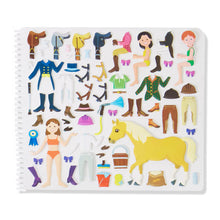 Load image into Gallery viewer, Melissa and Doug Riding Club Puffy Stickers Album MOQ3