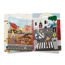 Load image into Gallery viewer, Melissa and Doug Cool Careers Puffy Stickers Album MOQ3