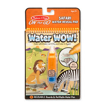 Load image into Gallery viewer, Melissa and Doug Water Wow Safari MOQ6