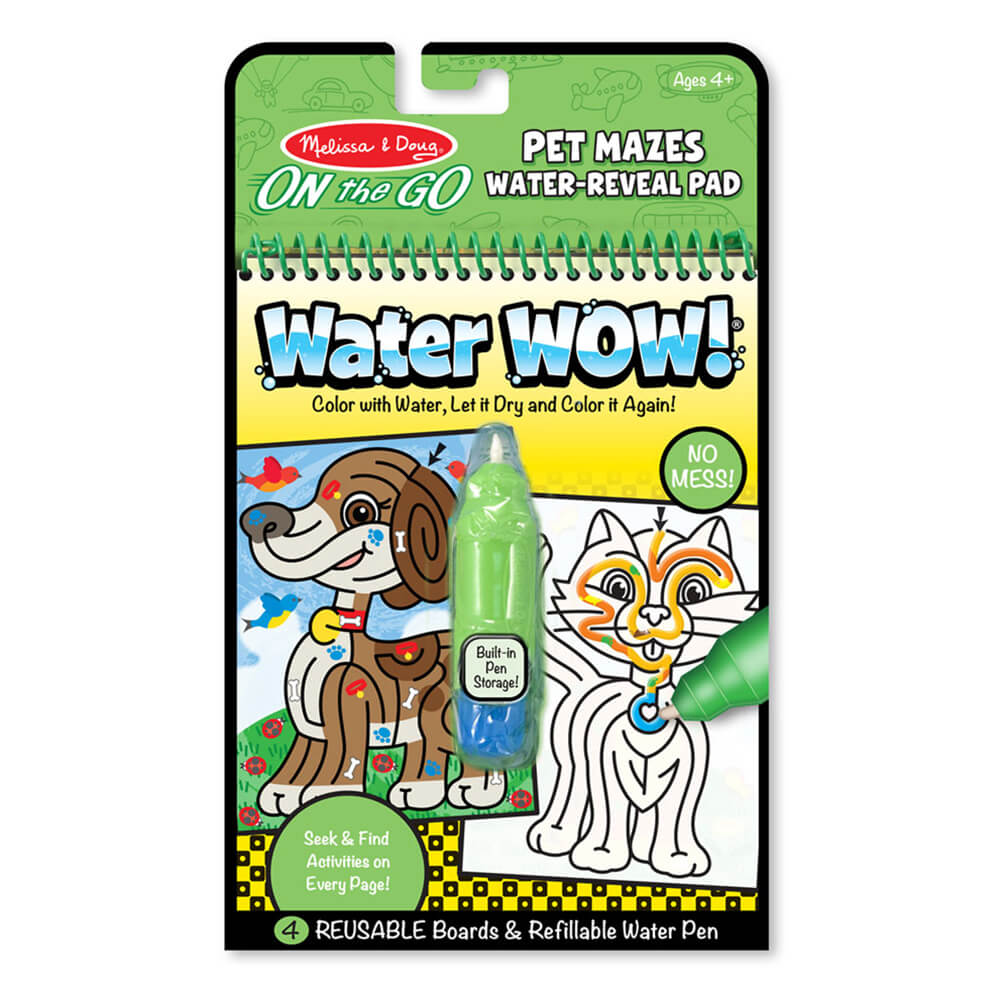 Melissa and Doug Water Wow Pet Mazes MOQ6