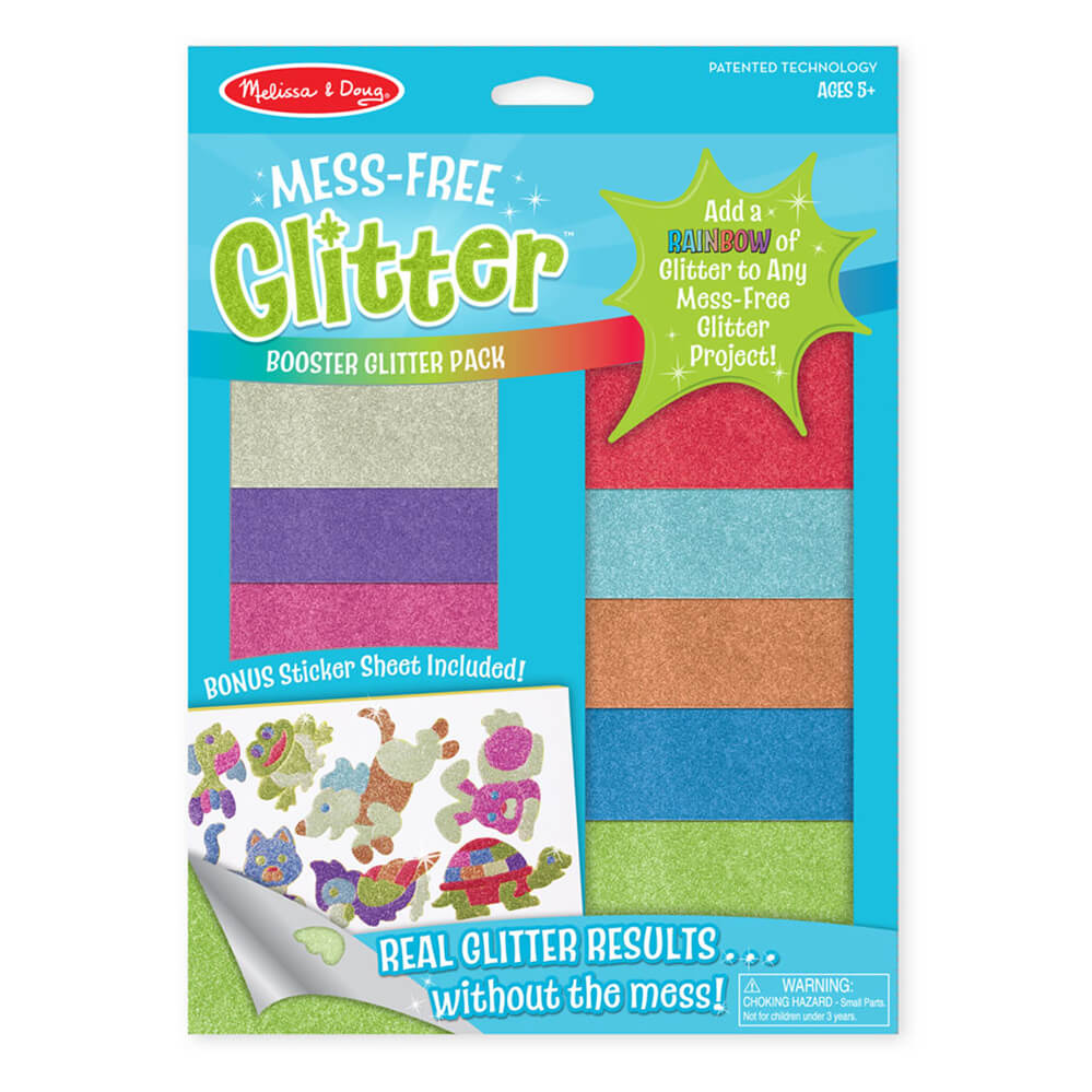 Melissa and Doug Booster Pack Mess Free Glitter MOQ3